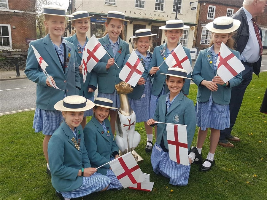 St George's Day Celebrations in Haslemere