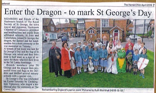 Enter the Dragon - to mark St George's Day