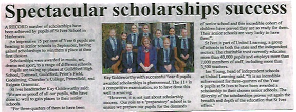 Spectacular Scholarship Success