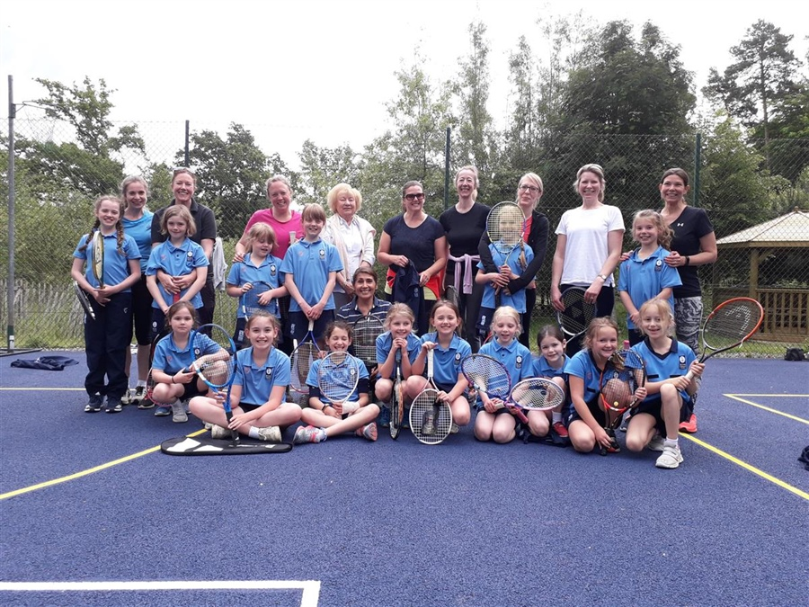 Mums and Daughters Tennis Tournament