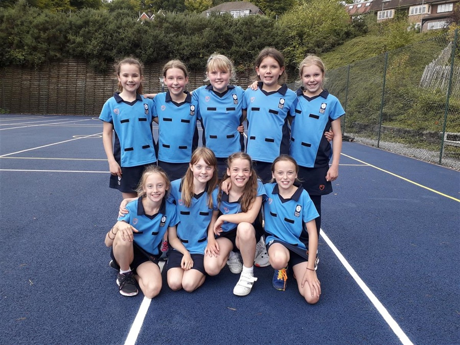Year 6 Netball Win Against Frensham Heights
