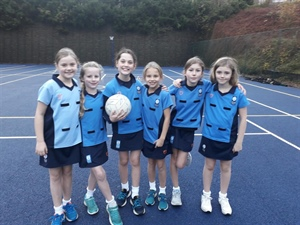 U10s Netball Matches Against The Royal School