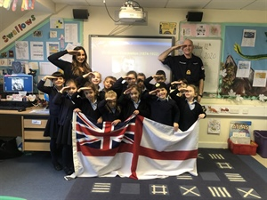 Year 1 learn about Sir Ernest Shackleton