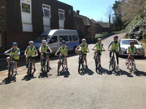 Year 6 do Bikeability Level 2