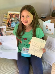 Anya's Progress with Sending Rainbows to Care Homes