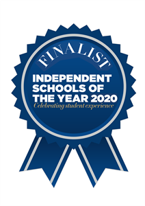Finalist in the Independent School of the Year Awards 2020 in the Environmental Category