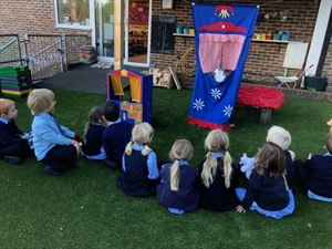 Reception's Puppet Shows