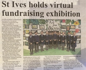 St Ives Holds Virtual Fundraising Exhibition