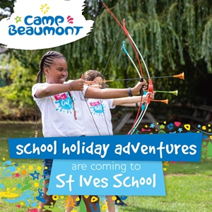 Camp Beaumont is Coming to St Ives!