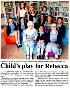 Child's play for Rebecca