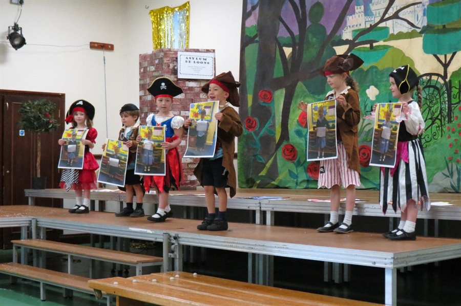 Reception's first assembly