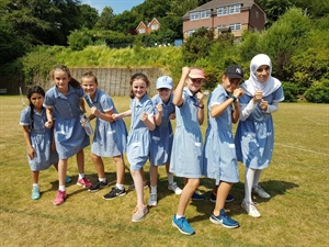 Year 6 Leavers vs Teachers rounders match