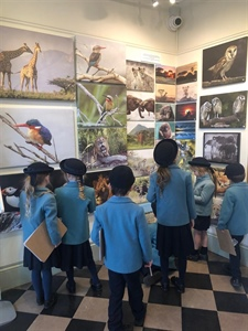 Year 1 trip to Haslemere Museum